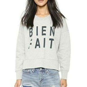 Madewell  Sweater Bien Fait Side Zip Sweatshirt
